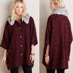 HTF ANTHROPOLOGIE Tracy Reese Vieux Cape Coat